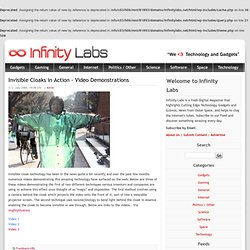 Inside Infinity Labs - The Blog of an Inte