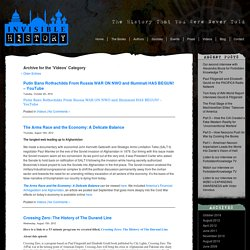 Invisible History Blog » Videos