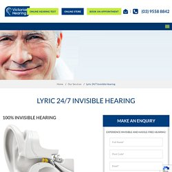 Independent Hearing Clinic, Hearing Loss, Hearing Aid, Capd Test & Hearing Check in Geelong, Melbourne
