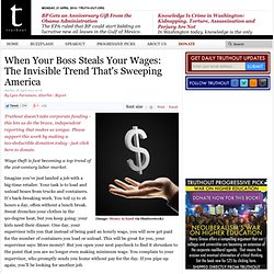 When Your Boss Steals Your Wages: The Invisible Trend That's Sweeping America