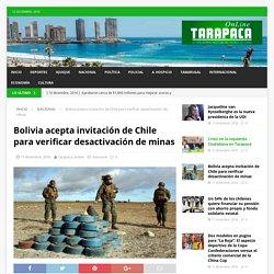 Bolivia acepta invitación de Chile para verificar desactivación de minas – Tarapaca Online