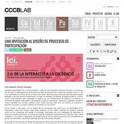 LAB » Arxiu del Bloc » Una invitación al diseño de procesos de participación