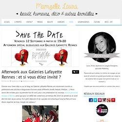Gagnez vos invitations pour une soirée privée aux Galeries Lafayette Rennes