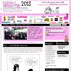 Invité 2009 #10 : Bastien Vivès - Festival des Blogs BD et du We