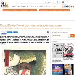 David Bowie s'invite dans des estampes japonaises