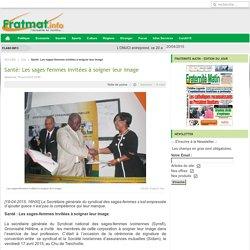 Santé: Les sages-femmes invitées à soigner leur image - FratMat