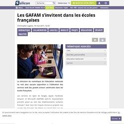 Les GAFAM s'invitent dans les écoles françaises