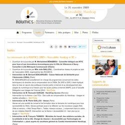 Invités - Accessibilité, Handicap et TIC - ROUMICS