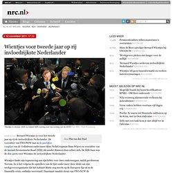 Wientjes voor tweede jaar op rij invloedrijkste Nederlander