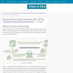 Invoice Financing Companies (for 2019)