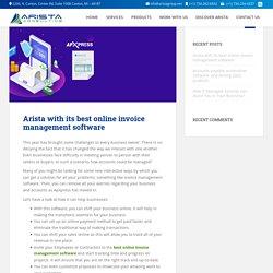 Best online invoice management software