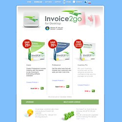 Invoice, Estimate and business forms software - Free-to-try