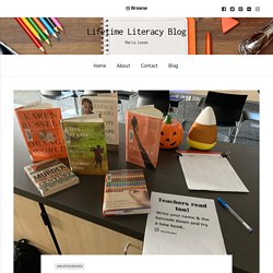 10 Steps that Don't Involve Points, Pizza, or Prizes to Create a School Wide Culture of Reading – Lifetime Literacy Blog