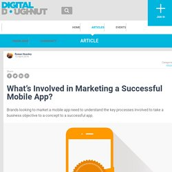What's Involved in Marketing a Successful Mobile App? - Digital Doughnut