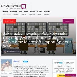 Jak służby inwigilują Polaków - raport Spider's Web