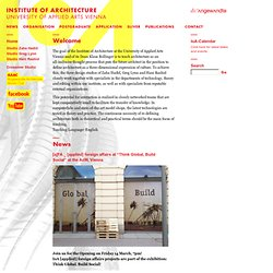 IoA Institute of Architecture