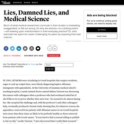Lies, Damned Lies, and Medical Science - David H. Freedman