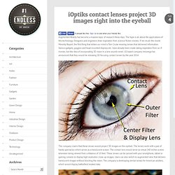 iOptiks contact lenses project 3D images right into the eyeball