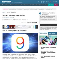 iOS 9: 50 tips and tricks