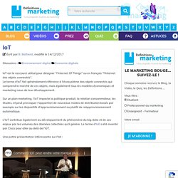 IoT - Définitions Marketing
