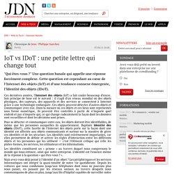 IoT vs IDoT : une petite lettre qui change tout - JDN