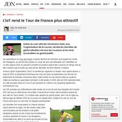 L'IoT rend le Tour de France plus attractif