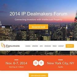IP Dealmakers Forum