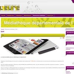 Médiathèque Départementale de l'Eure : Catalogue des applications