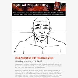 iPad Animation with Flip Boom Draw