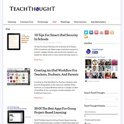 iPad/iOS - TeachThought