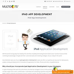 iPad App Development, iPad Application Development