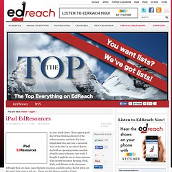 iPad EdResources