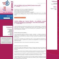 iPad en primaire - Académie d'Amiens