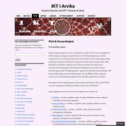 iPad & flerspråkighet