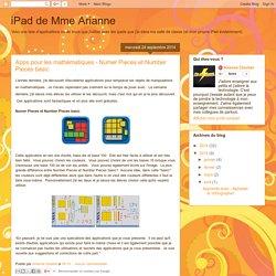 iPad de Mme Arianne