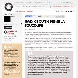 iPad: ce qu'en pense la soucoupe » Article » owni.fr, digital jo