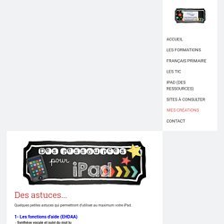 iPad (des ressources) - Site de espacecp !