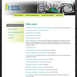 iPad » Sites web