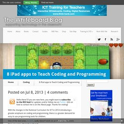 8 iPad apps to Teach Coding and Programming