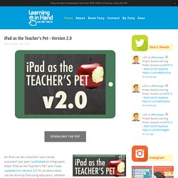 iPad as the Teacher's Pet - Version 2.0