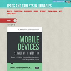 iPads and Tablets in Libraries