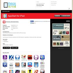 iPads for Education | Education Apps | AppStart for iPad
