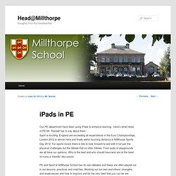 Head@Millthorpe