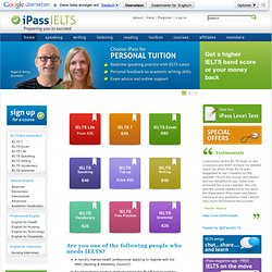 iPass IELTS online training courses