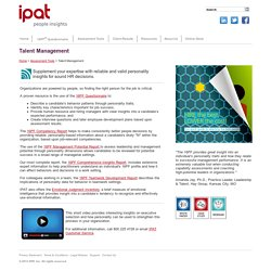IPAT - Talent Management