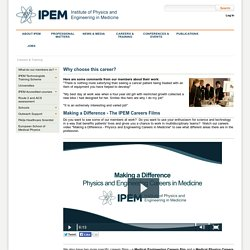 IPEM > Careers & Training