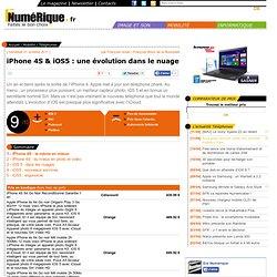 iPhone 4S & iOS5 : une évolution dans le nuage