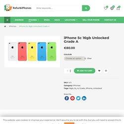 iPhone 5c 16gb Unlocked Grade A