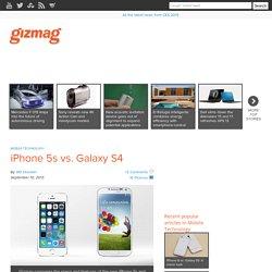 iPhone 5s vs. Galaxy S4