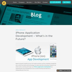 iPhone Application Development – What's in the Future?